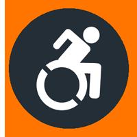 icona service sedia a rotelle